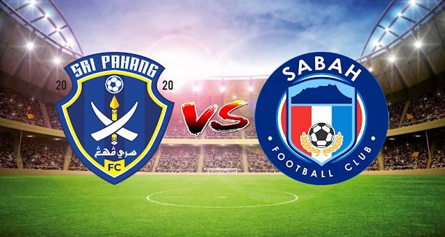 Live Streaming Sri Pahang FC vs Sabah FC 16.3.2021 Liga Super