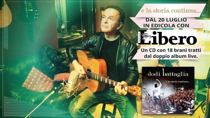 """Fino a domenica 19 agosto in edicola è disponibile allegato a """"LIBERO"""" il CD """"e la storia continua..."""