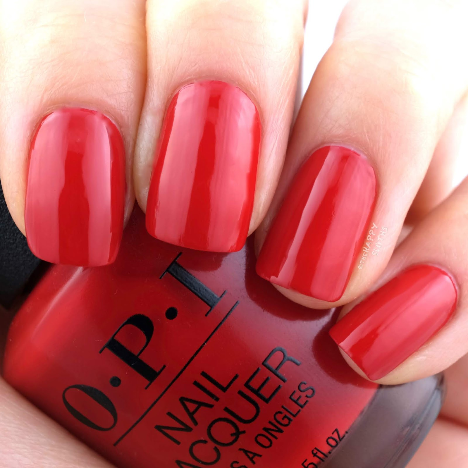 OPI | Fall 2019 Scotland Collection | Red Heads Ahead: Review and Swatches