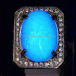 Cincin Batu Posfor Biru - ZP 906