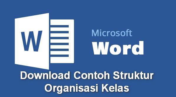 Download Contoh Struktur Organisasi Kelas
