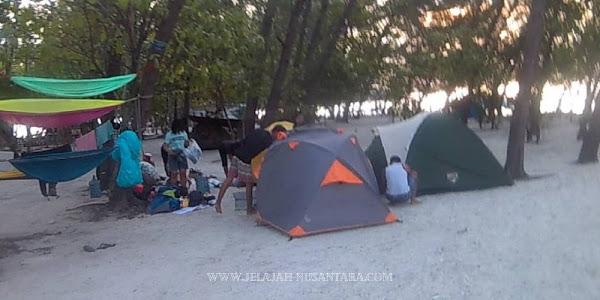 konsumsi wisata open trip dan private trip pulau harapan