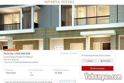 contoh iklan rumah dijual rumah123