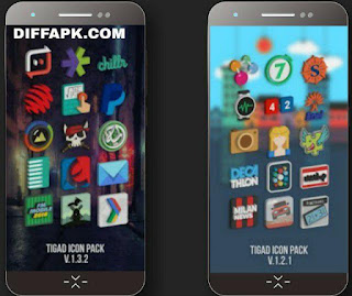 Tigad Pro Icon Pack Apk v2.7.3 [Patched]