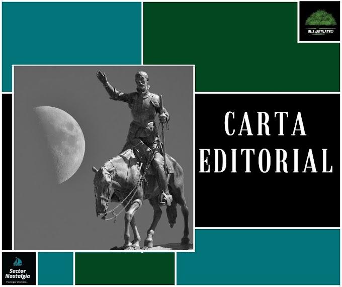 Carta Editorial. Año 1. No. 20 , octubre 2021.