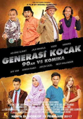 Trailer Film Generasi Kocak: 90an vs Komika 2017