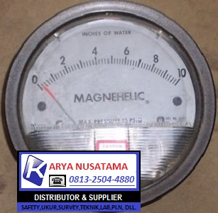 Jual Alat Suhu Magnehelic 2010 range : 0 - 10 inche di Malang