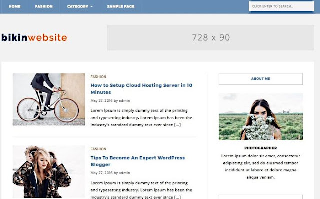 Download Blue Blog Free WordPress Theme. Features of Blue Blog WordPress Theme.