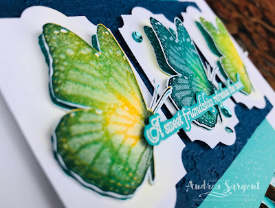 Stampin Up, 2020, blog hop, Art With Heart, Andrea Sargent, Butterfly Wishes, 2020,