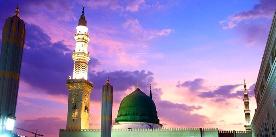 Ahmad Sanusi HusainCom Sunrise and sunset at Masjid Al