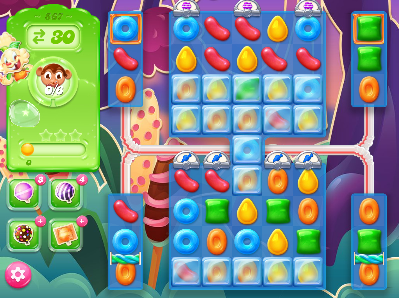 Candy Crush Jelly Saga level 567