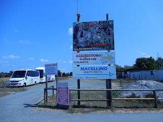 Parco Gallorose(ガッロロゼ公園)入り口