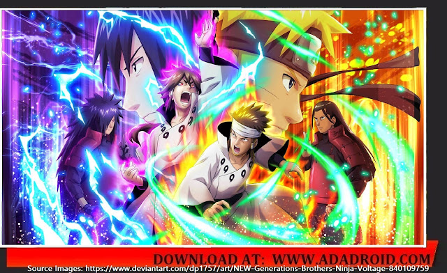 Download Kumpulan Sprite Naruto Senki 2020 ( UPDATE )