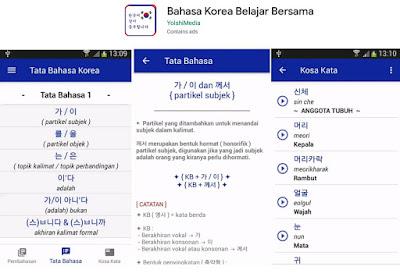 kamus bahasa korea ke indonesia