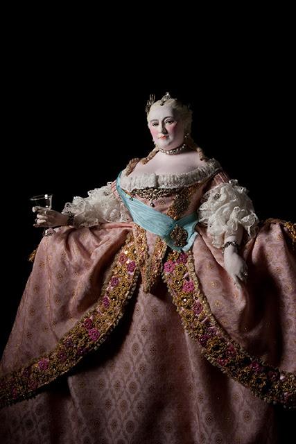 Queen Elizabeth I of Russia in formal gown