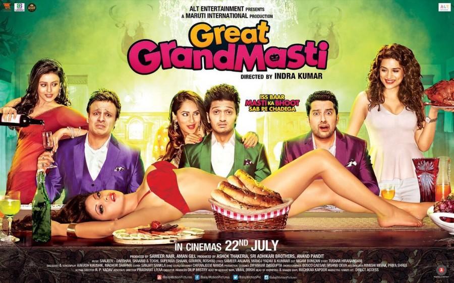Great Grand Masti Poster