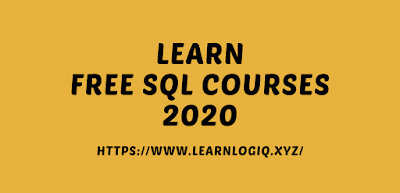 Learn SQL From Free Courses 2020