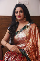 Udaya Bhanu lookssizzling in a Saree Choli at Gautam Nanda music launchi ~ Exclusive Celebrities Galleries 041.JPG