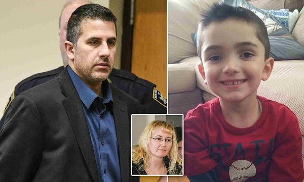 Cop 'froze his autistic son to death by making him sleep on freezing garage floor'