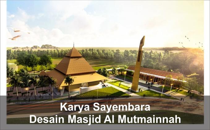 desain masjid al mutmainnah