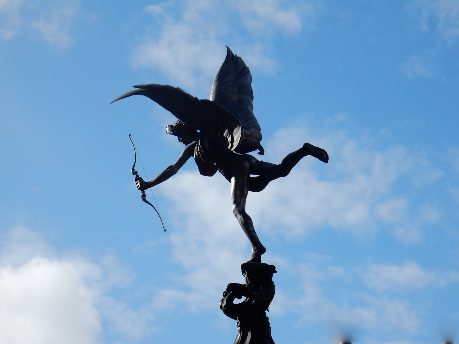 Eros Picadilly Circus - Shaftesbury Memorial Fountain