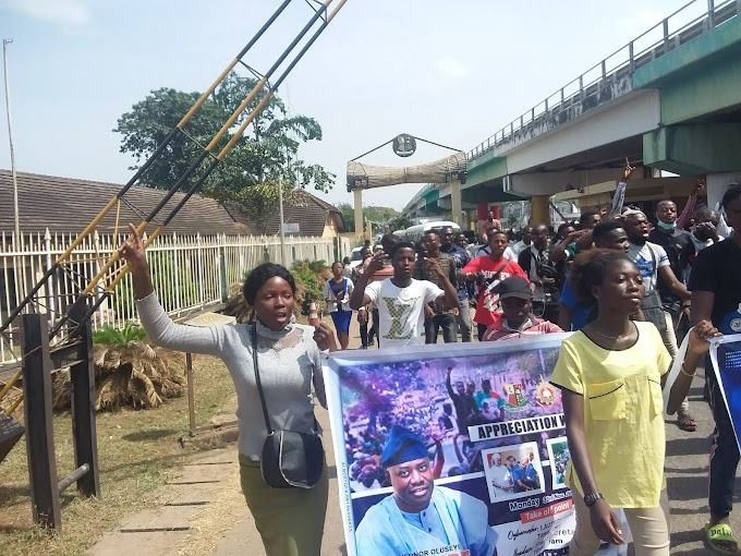 LAUTECH STUDENTS VISITS OYO STATE GOVT YESTERDAY 23-11-2020;Tendered their Demands,(Details)