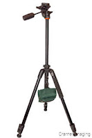 Cramer Imaging's photograph of a tripod being held down with a suspended weight