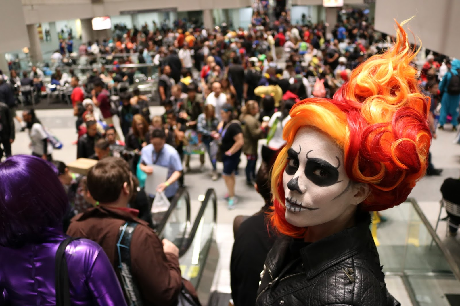 Ghost Rider Cosplay At New York Comic Con 2015. - Nubia's ...