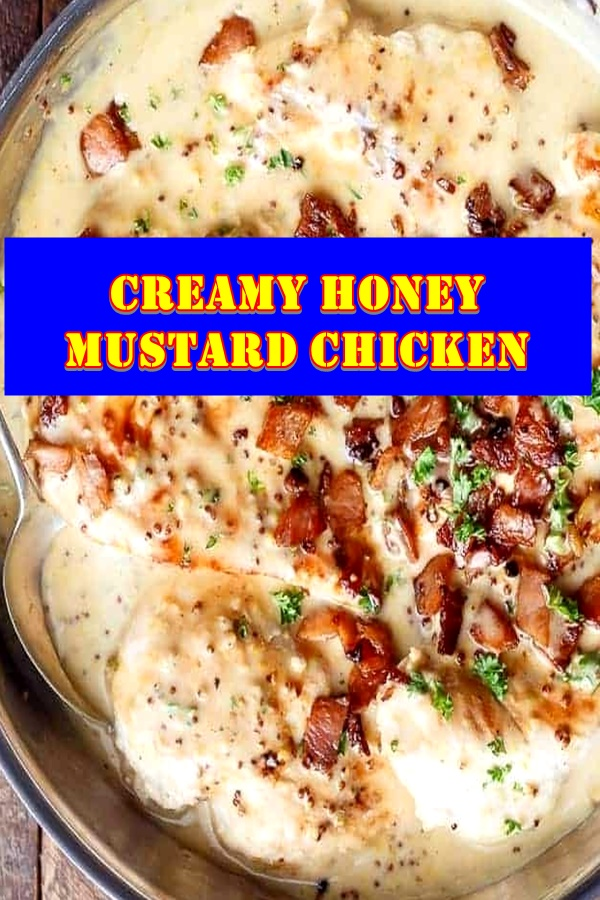#Creamy #Honey #Mustard #Chicken