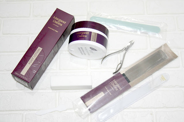 Introducing The Home Pedicure Treatment by Margaret Dabbs London