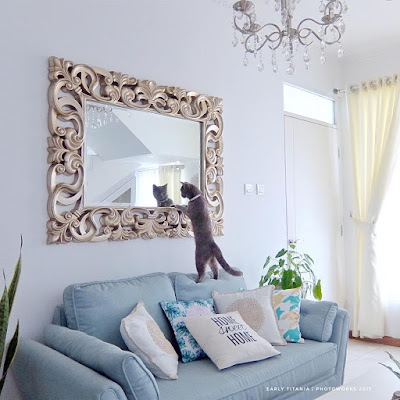 Cermin Hias Dinding Untuk Mempercantik Ruang Tamu
