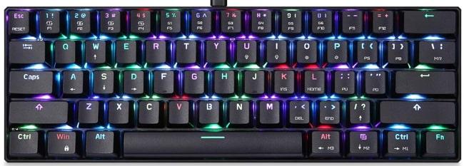 Motospeed CK61 Mechanical Keyboard for Gaming.