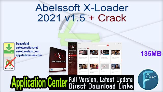 Abelssoft X-Loader 2021 v1.5 + Crack
