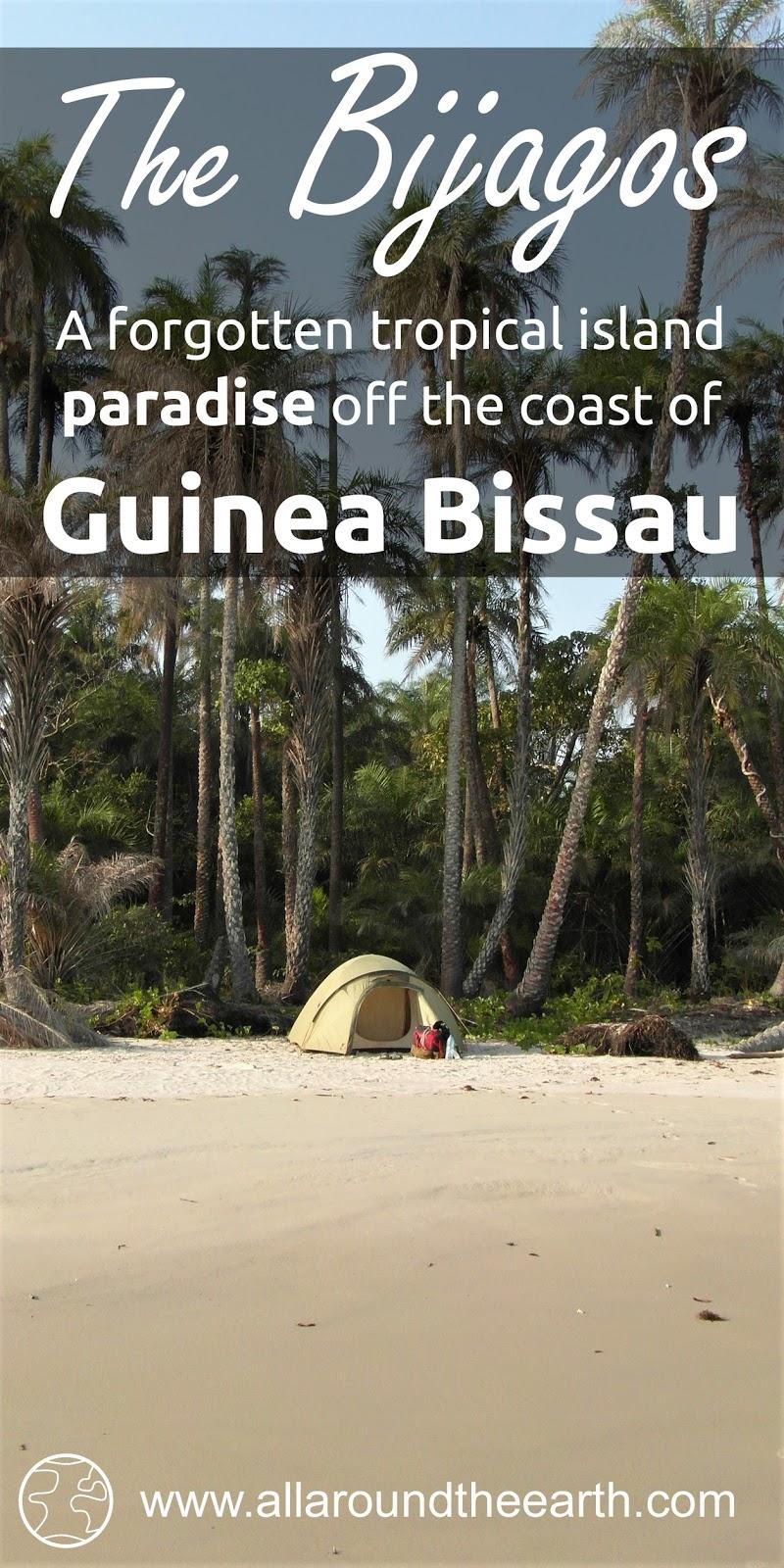 The Bijagos Archipelago, a forgotten tropical island paradise off the coast of Guinea Bissau, West Africa