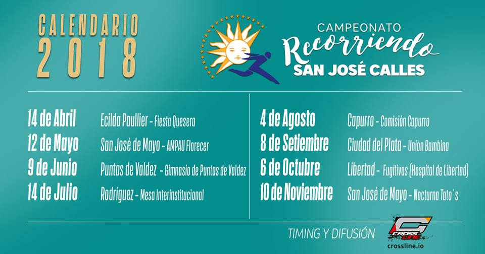 CALENDARIO RECORRIENDO SAN JOSE