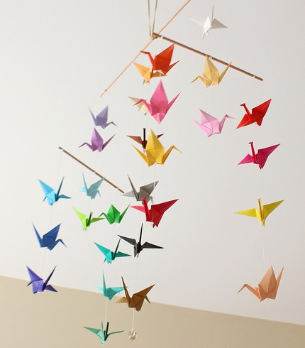 juneberry lane tutorial tuesday origami crane magic part two. Black Bedroom Furniture Sets. Home Design Ideas