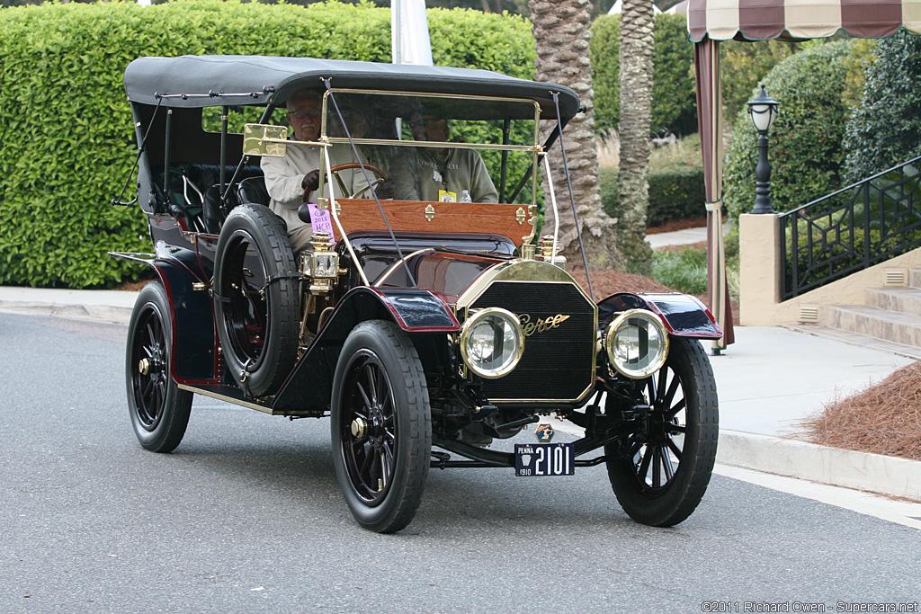 Pierce Race Cars: Paisley Curtain: Amelia Island Concours D' Elegance