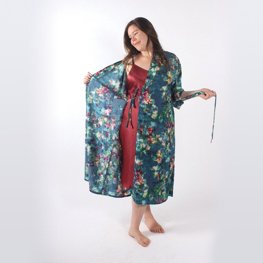 the #wardrobebuilder project suki kimono