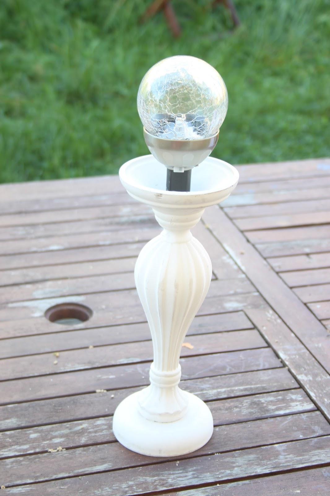 Les DIY de Fishounette : Lampe solaire pour le jardin