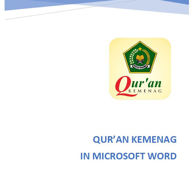 Aplikasi Quran Kemenag in Word