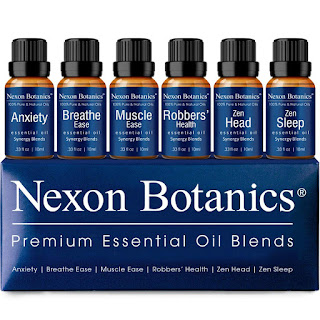 Nexon Botanics Essential Oil Blends Set