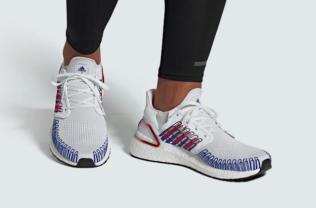 Adidas tung ra UltraBOOST 20 phối màu tinh tế