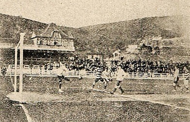 Chile y Argentina en partido amistoso, 10 de septiembre de 1910