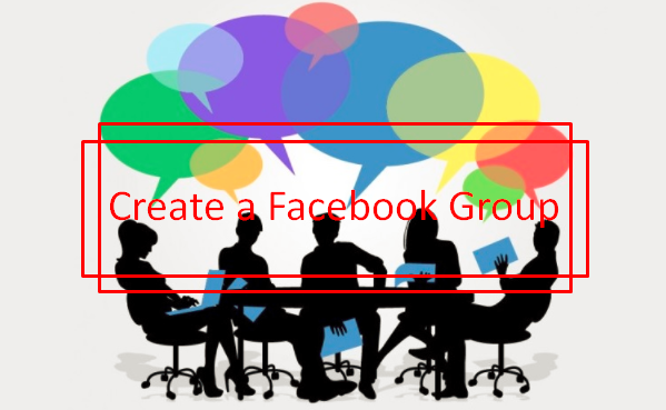 how to start a facebook account for a group
