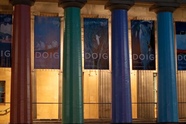 Edimburgo di sera