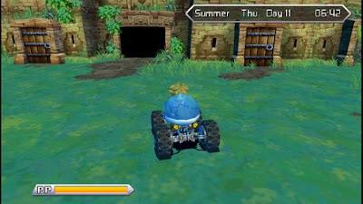 tampaknya beberapa dari kalian yang gres saja mengenal dan bermain Harvest Moon Innocent Cara Mendapatkan Motor Buggy di Harvest Moon Innocent Life