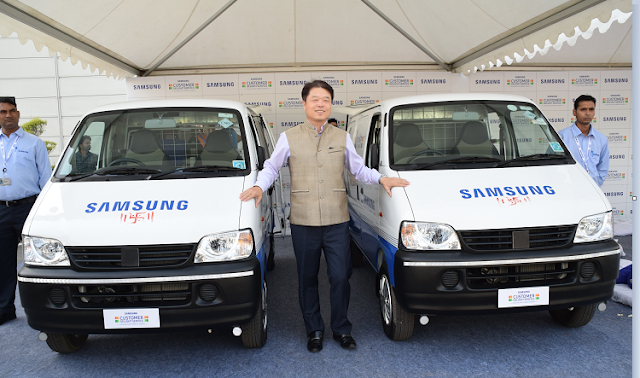 Samsung India expands service reach, adds over 1,000 more service points; launches 535 service vans to cover villages in over 6,000 talukas