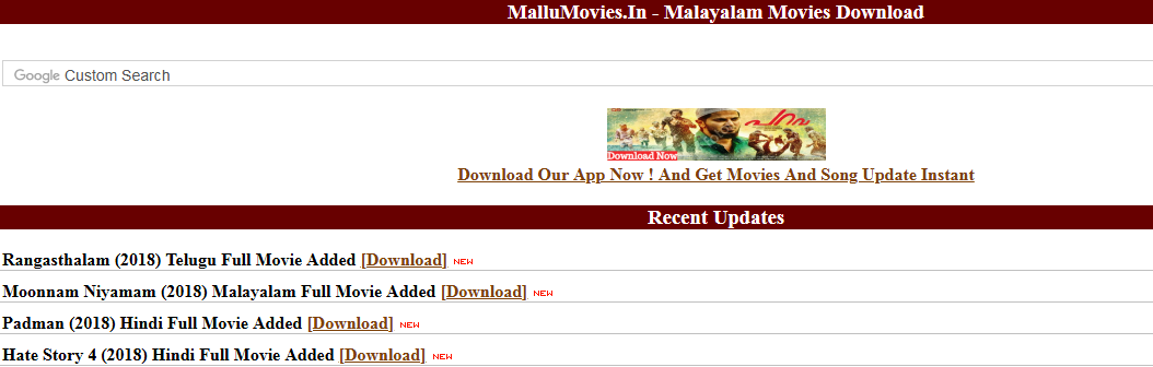 new movie download sites malayalam