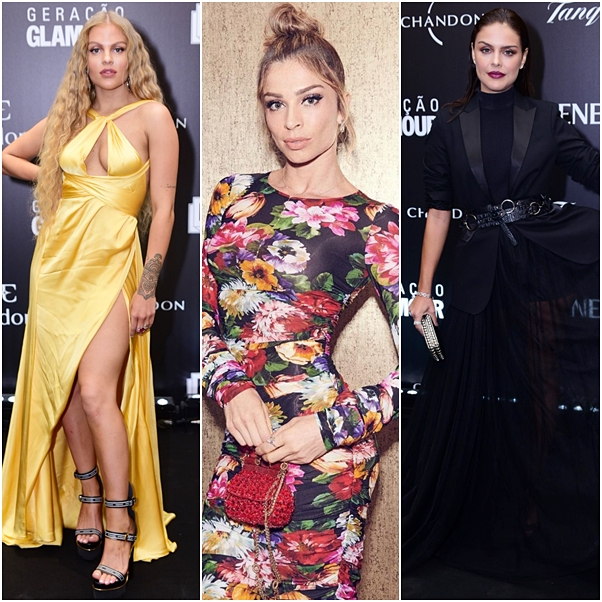 Looks do prêmio Geração Glamour 2019 luisa sonza