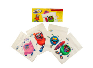 Wexy Character Snack Bags
